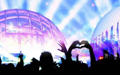 Musiikin juhlaa Globenissa