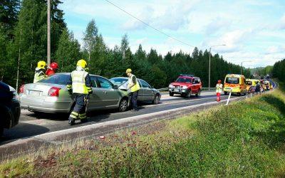 Tarkkaavaisuutta liikenteessä – myös tietyömailla