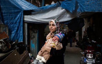 NCC:n joululahjoitus turvaa toimintaa Shatilan pakolaisleirillä