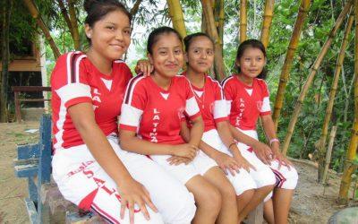 Lisää tyttöjä koulutielle Guatemalassa